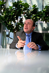 UK ENGLAND LONDON 10AUG07 - Standard & Poor's European chief economist Jean-Michel Six poses for an interview at the McGraw Hill headquarters in Canada Square, Docklands, London...jre/Photo by Jiri Rezac..© Jiri Rezac 2007..Contact: +44 (0) 7050 110 417.Mobile:  +44 (0) 7801 337 683.Office:  +44 (0) 20 8968 9635..Email:   jiri@jirirezac.com.Web:    www.jirirezac.com..© All images Jiri Rezac 2007 - All rights reserved.