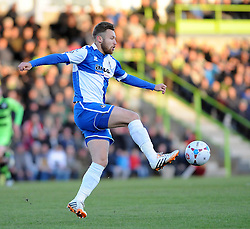 Bristol Rovers' Matty Taylor - Photo mandatory by-line: Neil Brookman/JMP - Mobile: 07966 386802 - 29/04/2015 - SPORT - Football - Nailsworth - The New Lawn - Forest Green Rovers v Bristol Rovers - Vanarama Football Conference