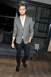 DOUGLAS BOOTH at the InStyle Best of British Talent Event in association with Lancôme and Avenue 32 held at The Rooftop Restaurant, Shoreditch House, Ebor Street, London E1 on 30th January 2013.