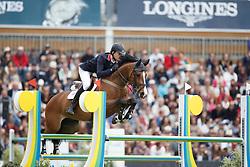 Roe Spencer, (GBR), Wonder Why<br /> Furusiyya FEI Nations Cup presented by Longines<br /> Longines Jumping International de La Baule 2015<br /> © Hippo Foto - Dirk Caremans<br /> 15/05/15