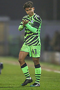 Forest Green Rovers Vaughn Covil(41) during the EFL Sky Bet League 2 match between Forest Green Rovers and Exeter City at the New Lawn, Forest Green, United Kingdom on 1 January 2020.
