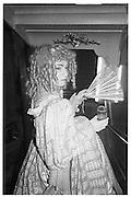 Gary Brown, Piers Gaveston Ball, Park Lane Hotel 13.05.83© Copyright Photograph by Dafydd Jones 66 Stockwell Park Rd. London SW9 0DA Tel 020 7733 0108 www.dafjones.com
