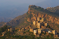 Yemen, région des Hauts Plateaux, village Bat Al Jaray, region de Al Mahwit // Yemen, central mountains, Al Jaray village, Al Mahwit region.