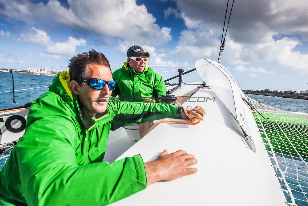 MOD 70 Phaedo³   Saint Marteen, 5th March 2015 , Heineken Regatta,  around the Island race.