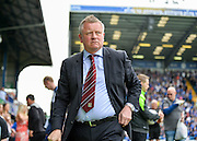 Northampton Town Manager Chris Wilder during the Sky Bet League 2 match between Portsmouth and Northampton Town at Fratton Park, Portsmouth, England on 7 May 2016. Photo by Adam Rivers.
