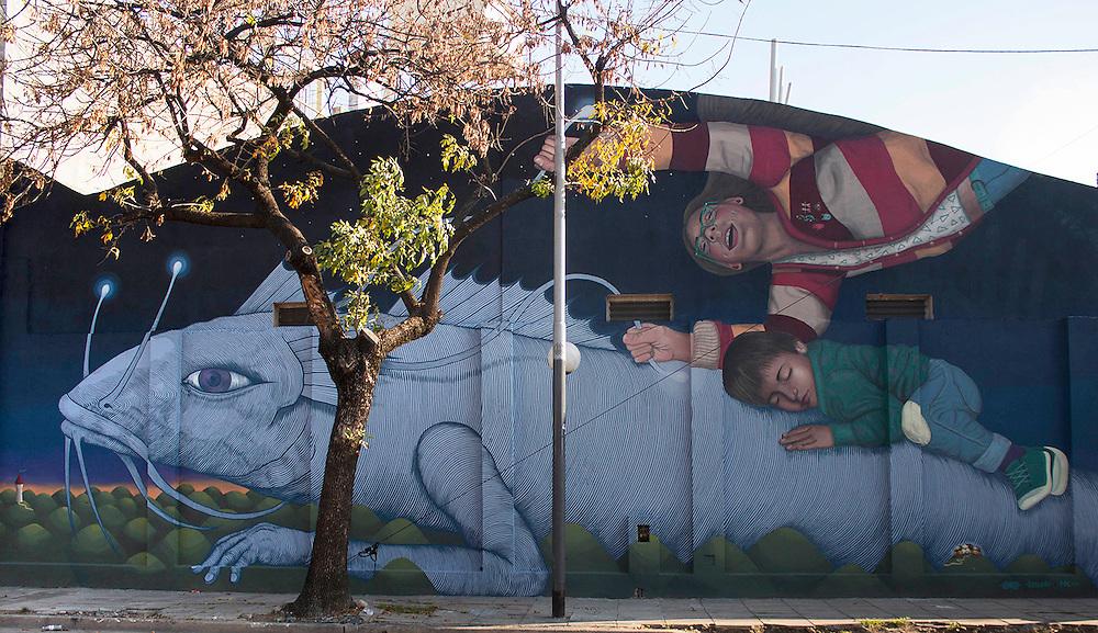 Proyecto Sullair Cultura en Barracas, Buenos Aires 2015. Alfalfa +Colectivo Licuado
