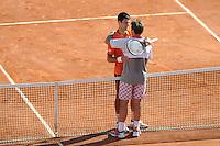 Stanislas WAWRINKA / Novak DJOKOVIC  - 07.06.2015 - Jour 15 - Finale  - Roland Garros 2015<br /> Photo : Nolwenn Le Gouic / Icon Sport