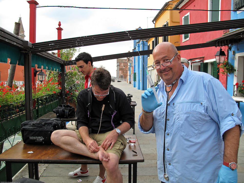 Bizarre Foods w/ Andrew Zimmern, Venice, Italy episode.<br />