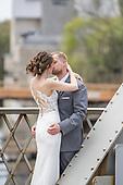 Kristen & Matthew's sweet Elora Mill wedding in MAy