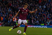 Sean Clare of Hearts during the Betfred Scottish League Cup semi-final match between Rangers and Heart of Midlothian at Hampden Park, Glasgow, United Kingdom on 3 November 2019.