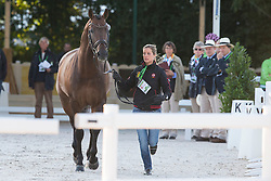 Julie De Deken, (BEL),  Lucky Dance - Horse Inspection Dressage - Alltech FEI World Equestrian Games™ 2014 - Normandy, France.<br /> © Hippo Foto Team - Leanjo de Koster<br /> 25/06/14