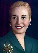 María Eva Duarte de Perón  7 May 1919 – 26 July 1952) was the second wife of President Juan Perón (1895–1974) and served as the First Lady of Argentina from 1946 until her death in 1952. She is often referred to as simply Eva Perón, or by the affectionate Spanish language diminutive Evita.