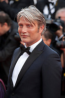 Actor Mads Mikkelsen at the gala screening for the film Loving at the 69th Cannes Film Festival, Monday 16th May 2016, Cannes, France. Photography: Doreen Kennedy