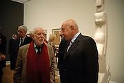 Sir Antony Caro; John Tusa , Wild Thing: Epstein, Gaudier-Brzeska, Gill. Royal Academy. Piccadilly. London. 20 October 2009.