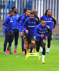 Cape Town--180329 Cape Town City midfielder Suprise Ralani at training preparing for heir Nedbank Cup game against Sundowns on sunday  .Photographer;Phando Jikelo/African News Agency/ANA