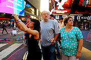 NEW YORK, NY - May 21:  Times Square on May 21, 2013 in NEW YORK, NY.  (Photo by Michael Bocchieri/Bocchieri Archive)