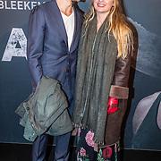 NLD/Amsterdam/20161031 - Premiere Fataal, Sandra van Nieuwland en partner