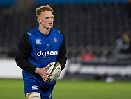 Bath Rugby's Miles Reid during the pre match warm up<br /> <br /> Photographer Simon King/Replay Images<br /> <br /> Anglo-Welsh Cup Round 4 - Ospreys v Bath Rugby - Friday 2nd February 2018 - Liberty Stadium - Swansea<br /> <br /> World Copyright &copy; Replay Images . All rights reserved. info@replayimages.co.uk - http://replayimages.co.uk