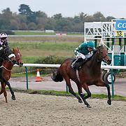 Epic Battle and Liam Jones winning the 3.50 race