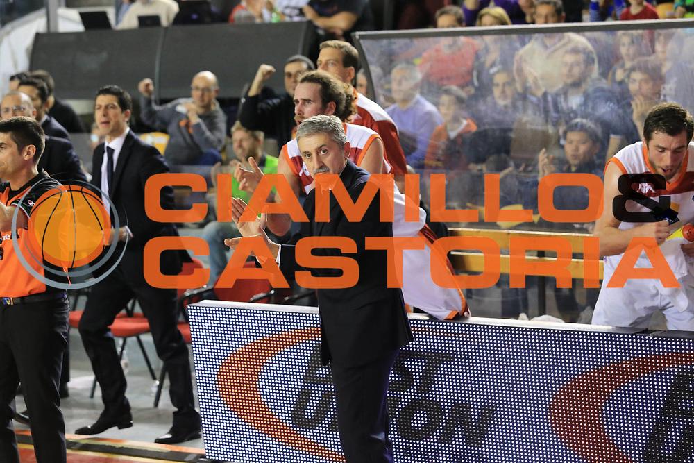 DESCRIZIONE : Roma Lega A 2012-13 Acea Roma Scavolini Banca Marche Pesaro<br /> GIOCATORE : Marco Calvani<br /> CATEGORIA : esultanza<br /> SQUADRA : Acea Roma<br /> EVENTO : Campionato Lega A 2012-2013 <br /> GARA : Acea Roma Scavolini Banca Marche Pesaro<br /> DATA : 20/01/2013<br /> SPORT : Pallacanestro <br /> AUTORE : Agenzia Ciamillo-Castoria/M.Simoni<br /> Galleria : Lega Basket A 2012-2013  <br /> Fotonotizia :  Roma Lega A 2012-13 Acea Roma Scavolini Banca Marche Pesaro<br /> Predefinita :