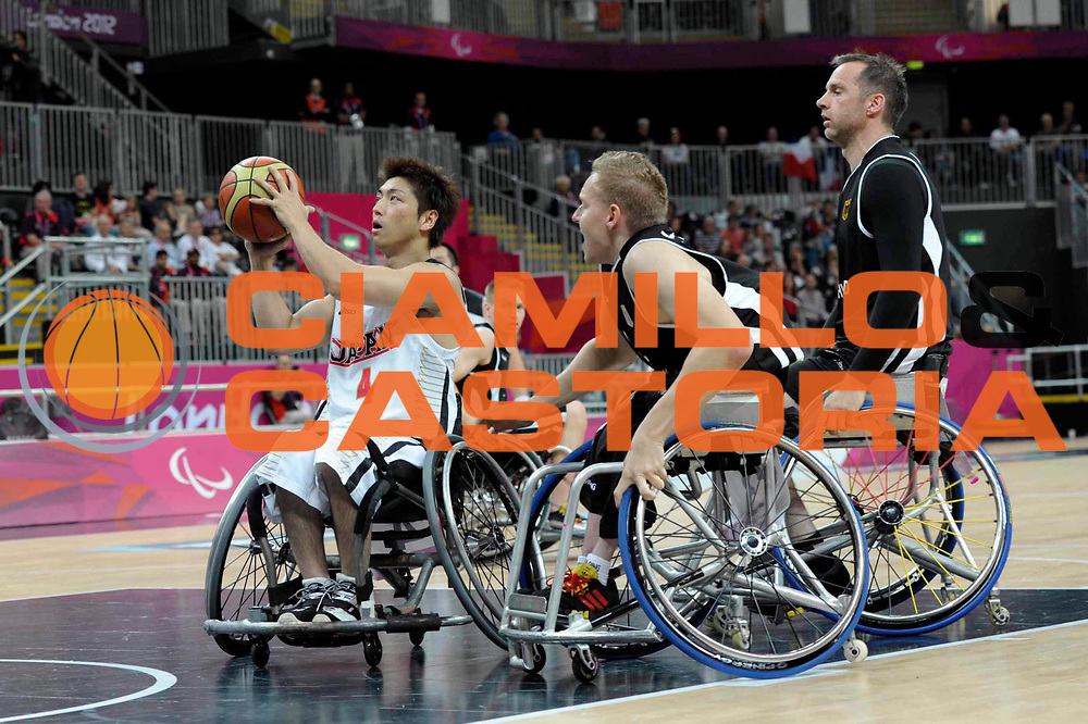 DESCRIZIONE : London Londra Paralympic Games ParaOlimpiadi 2012 Japan Germany Giappone Germania<br /> GIOCATORE :<br /> CATEGORIA :<br /> SQUADRA : Japan Germany Giappone Germania<br /> EVENTO : Paralympic Games ParaOlimpiadi 2012<br /> GARA : Japan Germany Giappone Germania<br /> DATA : 01/09/2012<br /> SPORT : Pallacanestro <br /> AUTORE : Agenzia Ciamillo-Castoria/G.Fiolo<br /> Galleria : London Londra Paralympic Games ParaOlimpiadi 2012 <br /> Fotonotizia : London Londra Paralympic Games ParaOlimpiadi 2012 Japan Germany Giappone Germania<br /> Predefinita :