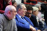 DESCRIZIONE: Varese Lega A 2014-15 <br /> Openjobmetis Varese Upea Capo d'Orlando<br /> GIOCATORE: Renzo Cimberio Gianmarco Pozzecco<br /> CATEGORIA: ritratto allenatore coach<br /> SQUADRA: <br /> EVENTO: Campionato Lega A 2014-2015<br /> GARA: Openjobmetis Upea<br /> DATA: 26/04/2015<br /> SPORT: Pallacanestro<br /> AUTORE: Agenzia Ciamillo-Castoria/E. Scaringi<br /> Galleria: Lega Basket A 2014-2015<br /> Fotonotizia: Varese Lega A 2014-15 <br /> Openjobmetis Upea