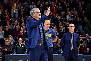 Romeo Sacchetti<br /> Banco di Sardegna Dinamo Sassari - Vanoli Cremona<br /> LBA Legabasket Serie A Postemobile 2018-2019<br /> Sassari, 03/03/2019<br /> Foto L.Canu / Ciamillo-Castoria