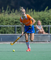 BLOEMENDAAL   -  Lilli de Nooijer (Bldaal)  tijdens  oefenwedstrijd dames Bloemendaal-Victoria, te voorbereiding seizoen 2020-2021.   COPYRIGHT KOEN SUYK