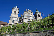 Basilika Weingarten (Barockkirche), Ravensburg, Baden-Württemberg, Deutschland