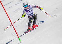 70# Ljutic Tvrtko from Croatia during the slalom of National Championship of Slovenia 2019, on March 24, 2019, on Krvavec, Slovenia. Photo by Urban Meglic / Sportida