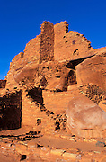 Morning light on Wupatki Ruin, Wupatki National Monument, Arizona USA