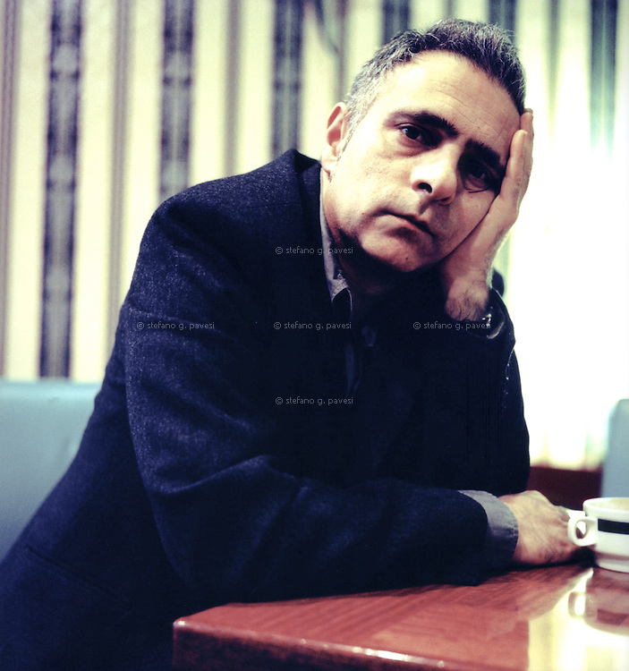 English writer Hanif Kureishi.