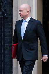 Downing Street, London, January 27th 2015. Ministers attend the weekly cabinet meeting at Downing Street. PICTURED: William Hague leave the cabinet meeting.