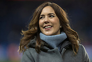 FOOTBALL: H.R.H. Mary, Crown Princess of Denmark, before the friendly match between Denmark and Panama at Brøndby Stadium on March 22, 2018 in Brøndby, Copenhagen, Denmark. Photo by: Claus Birch / ClausBirch.dk.