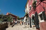 Inner city of Mostar. Bosnien. Eastern Europe.