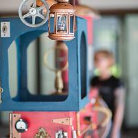 Art Pianos For All | Sally & Jes finishing train piano in Coalville