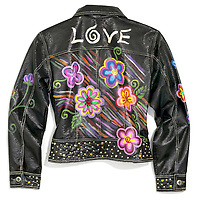 Black Flower Jacket