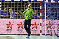 Mickael Robin - 05.03.2015 - Montpellier / Cesson Rennes - 17eme journee de Division 1<br />Photo : Andre Delon / Icon Sport