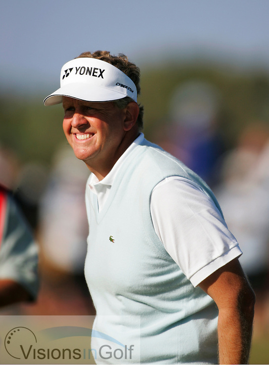 Colin Montgomerie 050717 The Open Championship 2005, St. Andrews<br />Photo Credit:  Mark Newcombe / visionsingolf.com