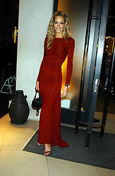 Model LISA BUTCHER at a party to celebrate the first 20 years of fashion label Donna Karan held at her store at 19/20 New Bond Street, London W1 on 21st September 2004.<br />