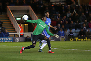 Coventry City goalkeeper Reice Charles-Cook (23)  during the Sky Bet League 1 match between Peterborough United and Coventry City at London Road, Peterborough, England on 25 March 2016. Photo by Simon Davies.