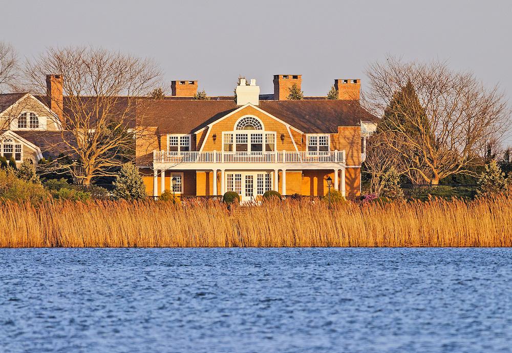 Summer Home of Cliff Robertson,  36 Morrison Lane, Water Mill, Long Island, New York