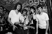Dire Straits backstage at The Marquee Club 1978