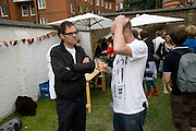 DEXTER DALWOOD, A Night for the creative Act. Fundraising for the Hoft charity. Rochelle School. Arnold Circus. London.  26 June 2008 *** Local Caption *** -DO NOT ARCHIVE-© Copyright Photograph by Dafydd Jones. 248 Clapham Rd. London SW9 0PZ. Tel 0207 820 0771. www.dafjones.com.