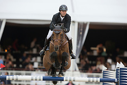 Delaveau Patrice (FRA) - Carinjo HDC<br /> Longines Global Champions Tour of Antwerpen 2014<br /> © Dirk Caremans