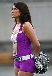 24.07.2010, Commerzbank Arena, Frankfurt, GER, Football EM 2010, Team Germany vs Team Austria, im Bild Cheerleader,  EXPA Pictures © 2010, PhotoCredit: EXPA/ T. Haumer / SPORTIDA PHOTO AGENCY