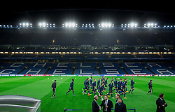 Players during practice session of NK Maribor 1 day before UEFA Champions League 2014/15 Match between FC Chelsea and NK Maribor, SLO, on October 20, 2014 in Stamford Bridge Stadium, London, Great Britain. Photo by Vid Ponikvar / Sportida.com