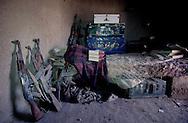 Afghanistan. Kandahar. Mollah Omar room in the Madrassah where He lived during communist regime  Shingessar/  chambre de la madrassah ou  a vecu le mollah Omar   Shingessar  Afghanistan ,