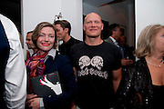 CAMILLA RUTHERFORD, Party at the home of Amanda Eliasch in Chelsea after the opening of As I Like it. A memory by Amanda Eliasch and Lyall Watson. Chelsea Theatre. Worl's End. London. 4 July 2010<br /> <br />  , -DO NOT ARCHIVE-© Copyright Photograph by Dafydd Jones. 248 Clapham Rd. London SW9 0PZ. Tel 0207 820 0771. www.dafjones.com.