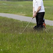 NLD/Zandvoort/20120521 - Donmasters 2012 golftoernooi, Peter Paul Muller aan het golfen